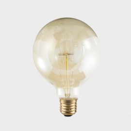 Vintage balloon light bulb