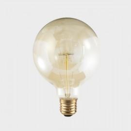 Vintage balloon light bulb